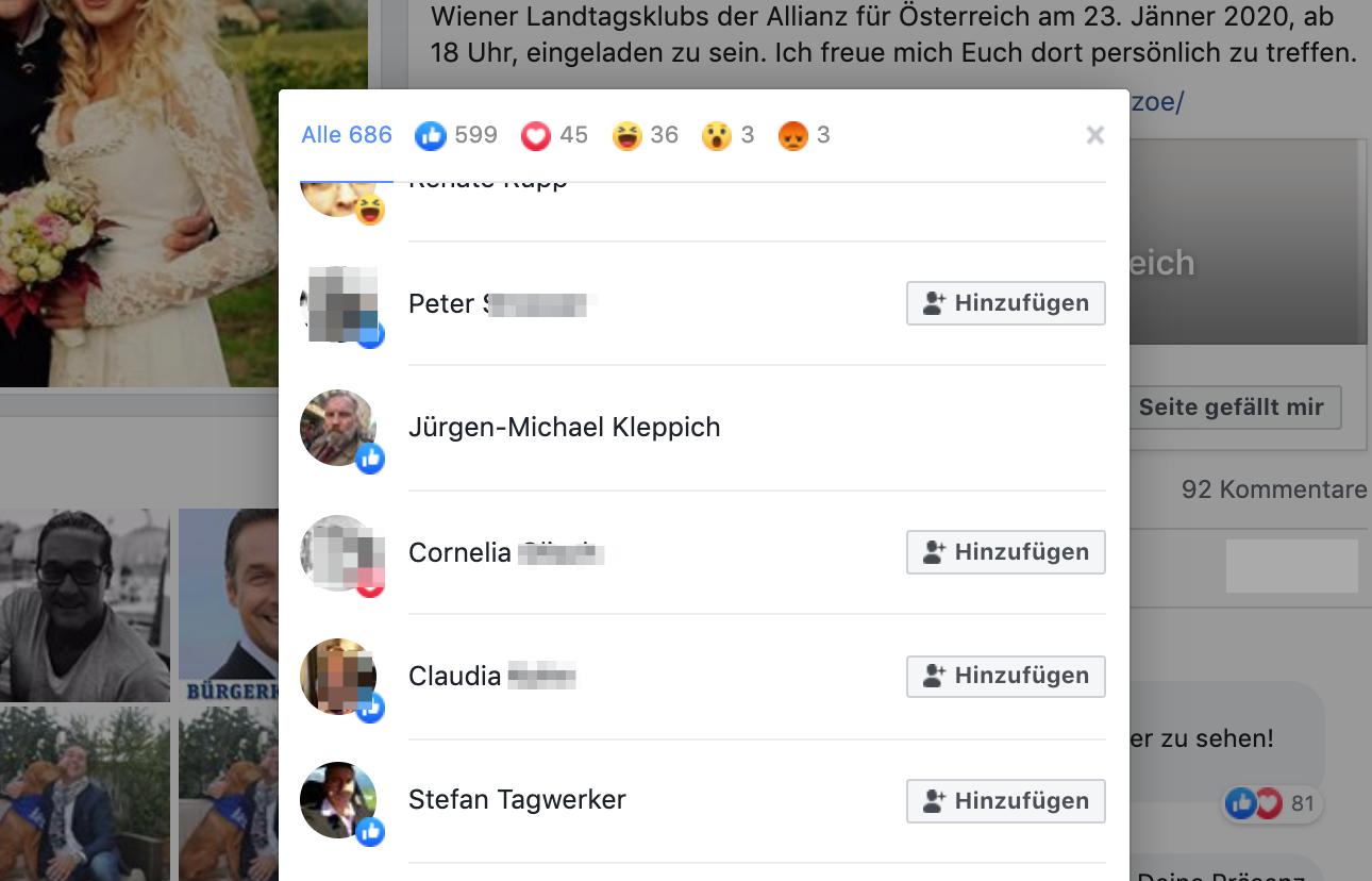Like für Strache/DAÖ: Jürgen-Michael Kleppich und Stefan Tagwerker