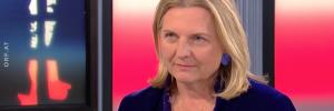 Karin Kneissl im ORF Report