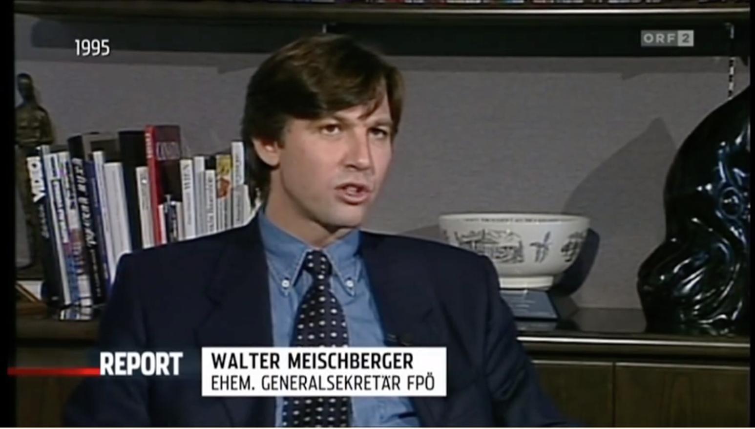 Walter Meischberger(Haiders Buberlpartei – ORF Report)