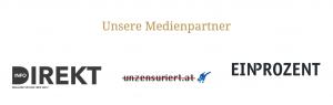 """Medienpartner beim Kongress der """"Verteidiger Europs"""" (Scrennshot Webarchiv)"""