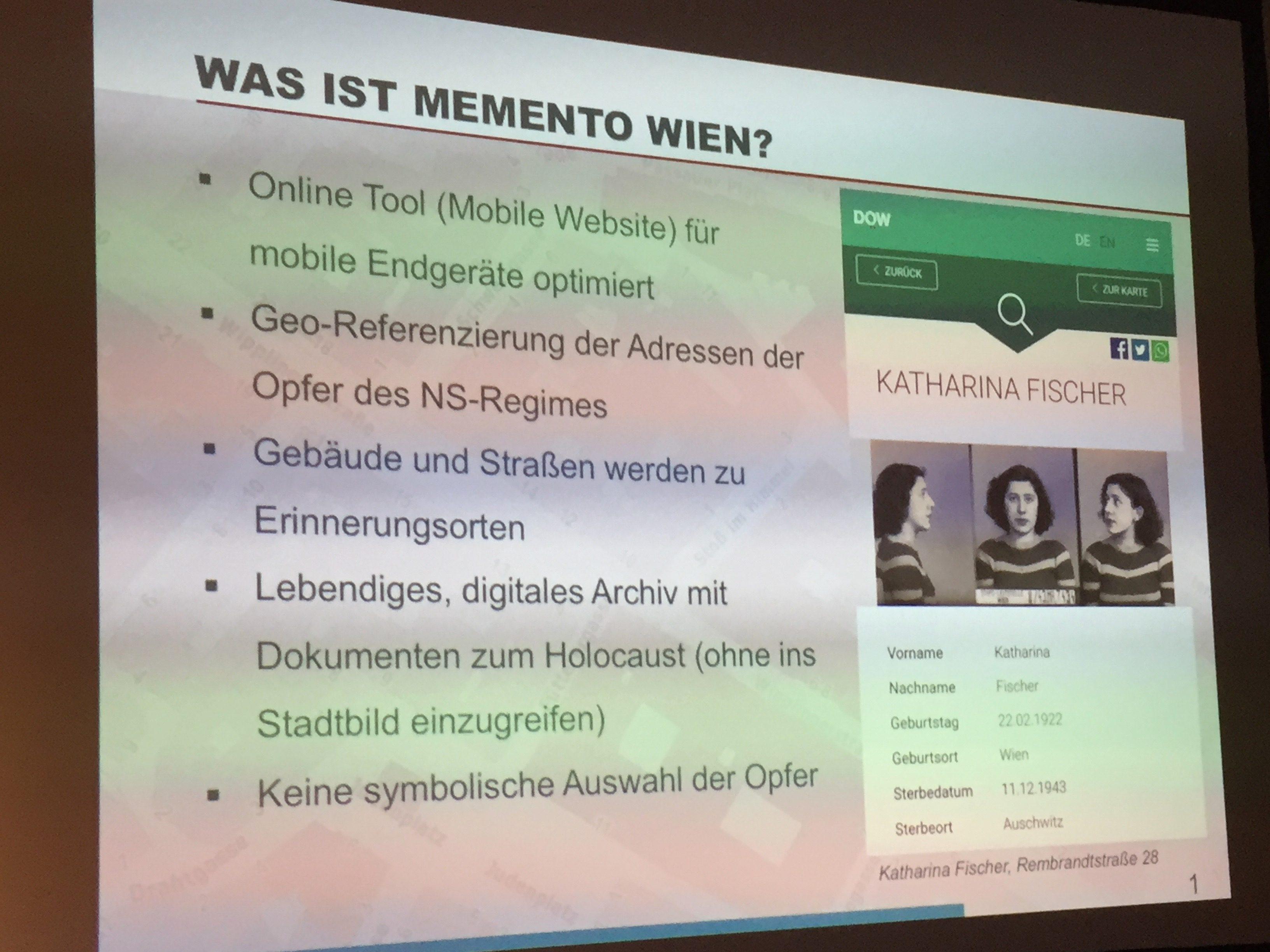 Was ist Memento Wien?
