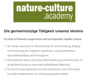 nature-culture.academy: Forschung, Bildung, Natur-nahe Gesundheitsförderung ...