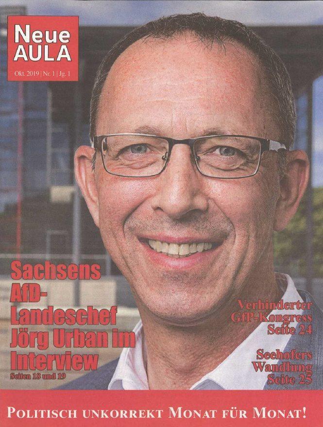 """Cover """"Neue Aula"""" Deutschland"""