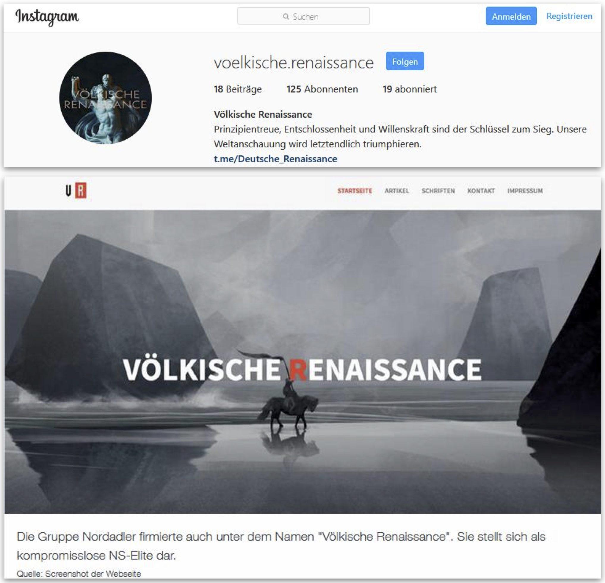 """""""Nordadler"""" ist auch """"Völkische Renaissance"""" (Bild 2: ZDF)"""