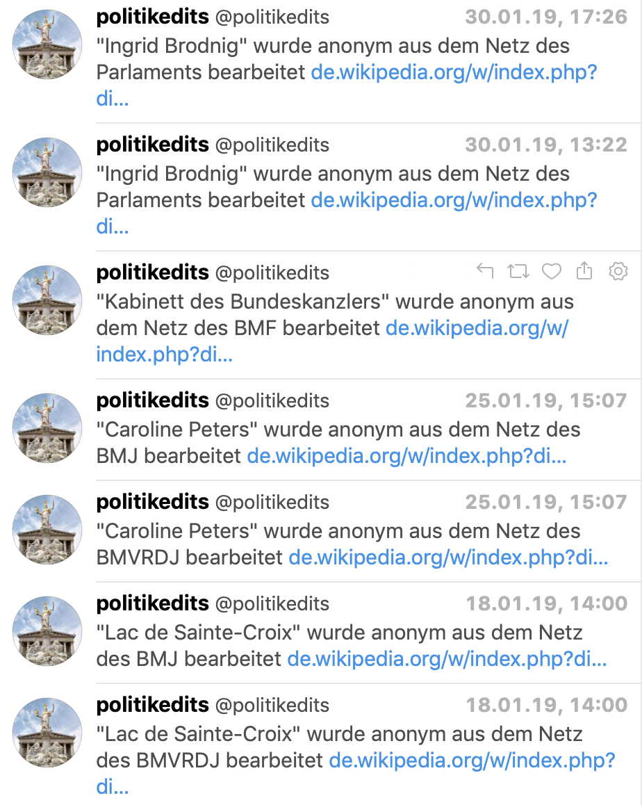 Politikedits auf Twitter