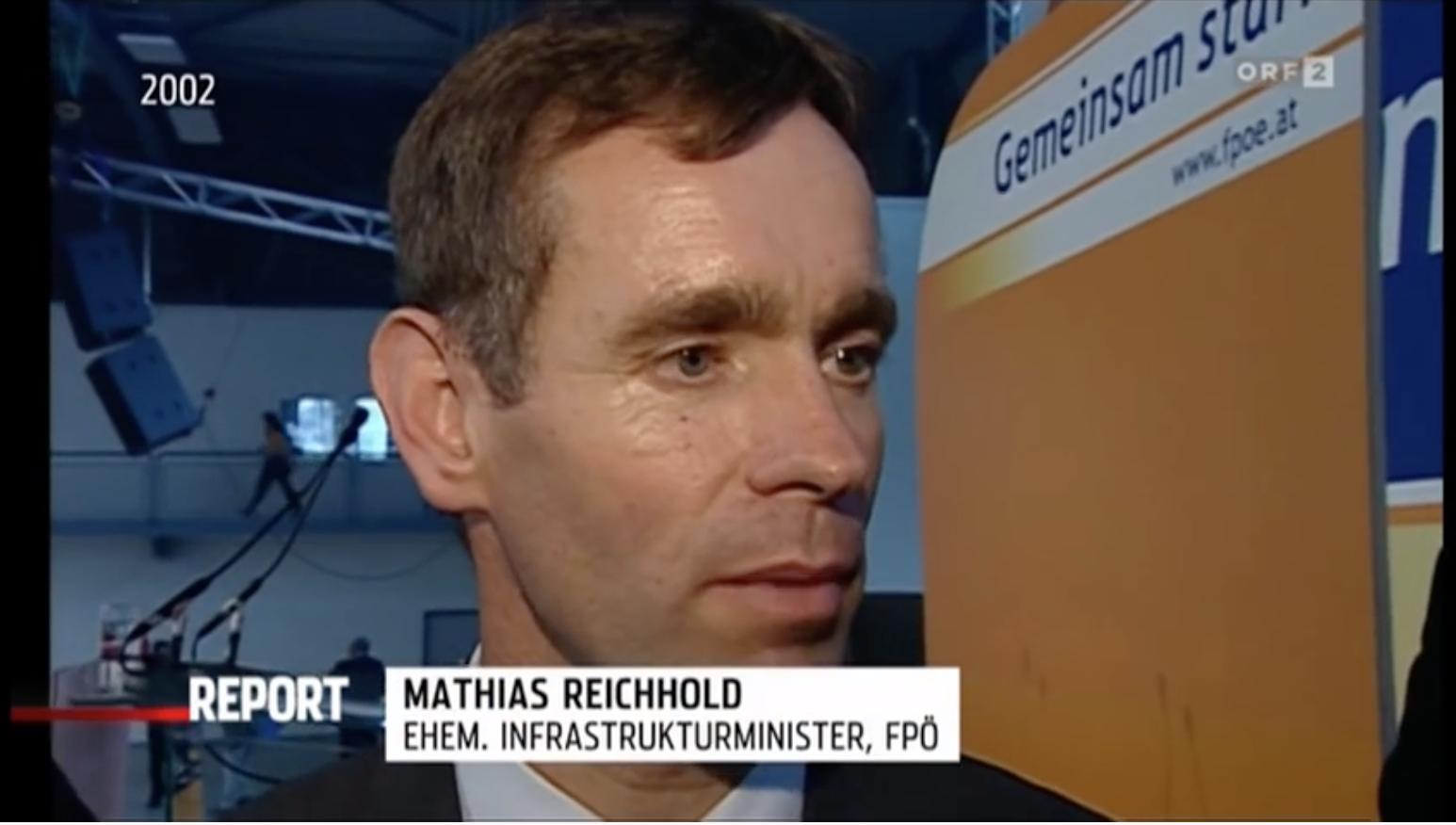 Mathias Reichhold (Haiders Buberlpartei – ORF Report)