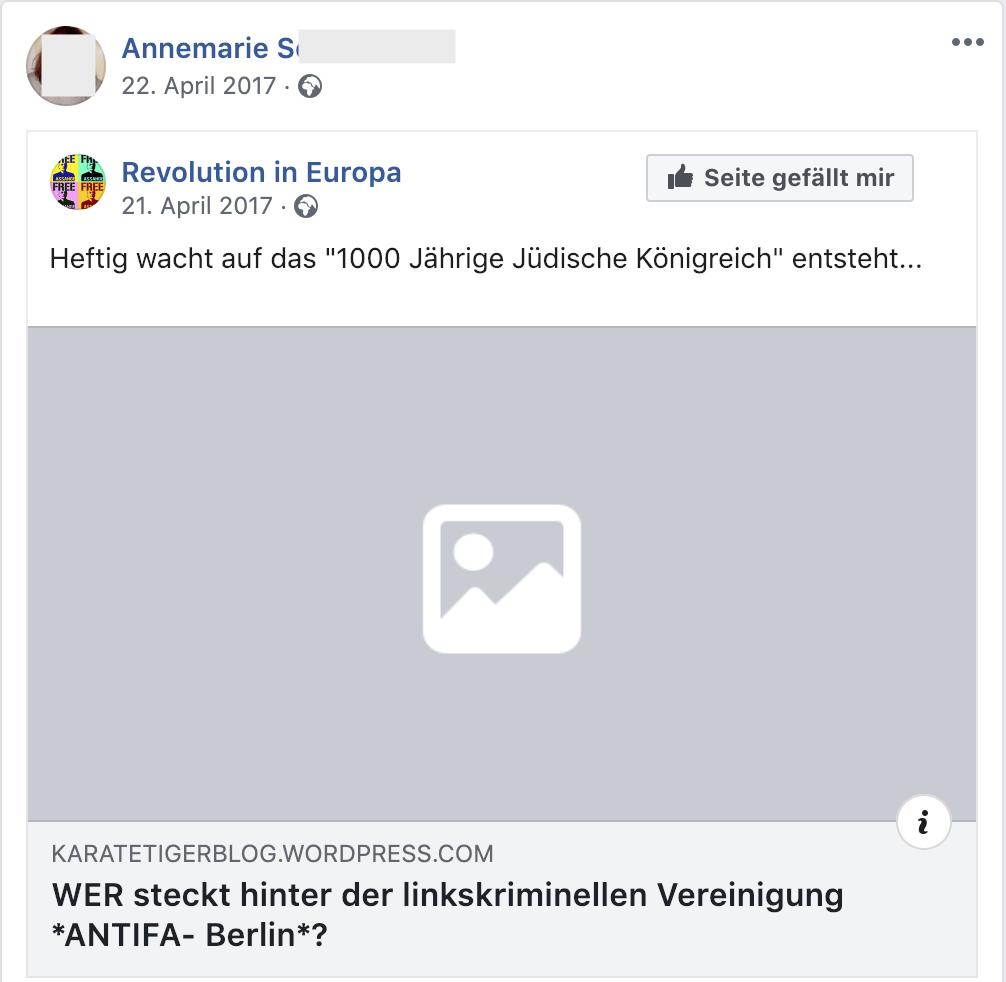 """""""Das 1000 Jährige Jüdische Königreich"""" entsteht (21.4.17)"""