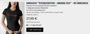 T-Shirt um 27€ im Brötzner-Shop