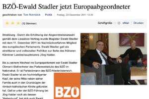 Ewald Stadler (BZÖ) mit Tom Rohrböck (Quelle: skylla.at)