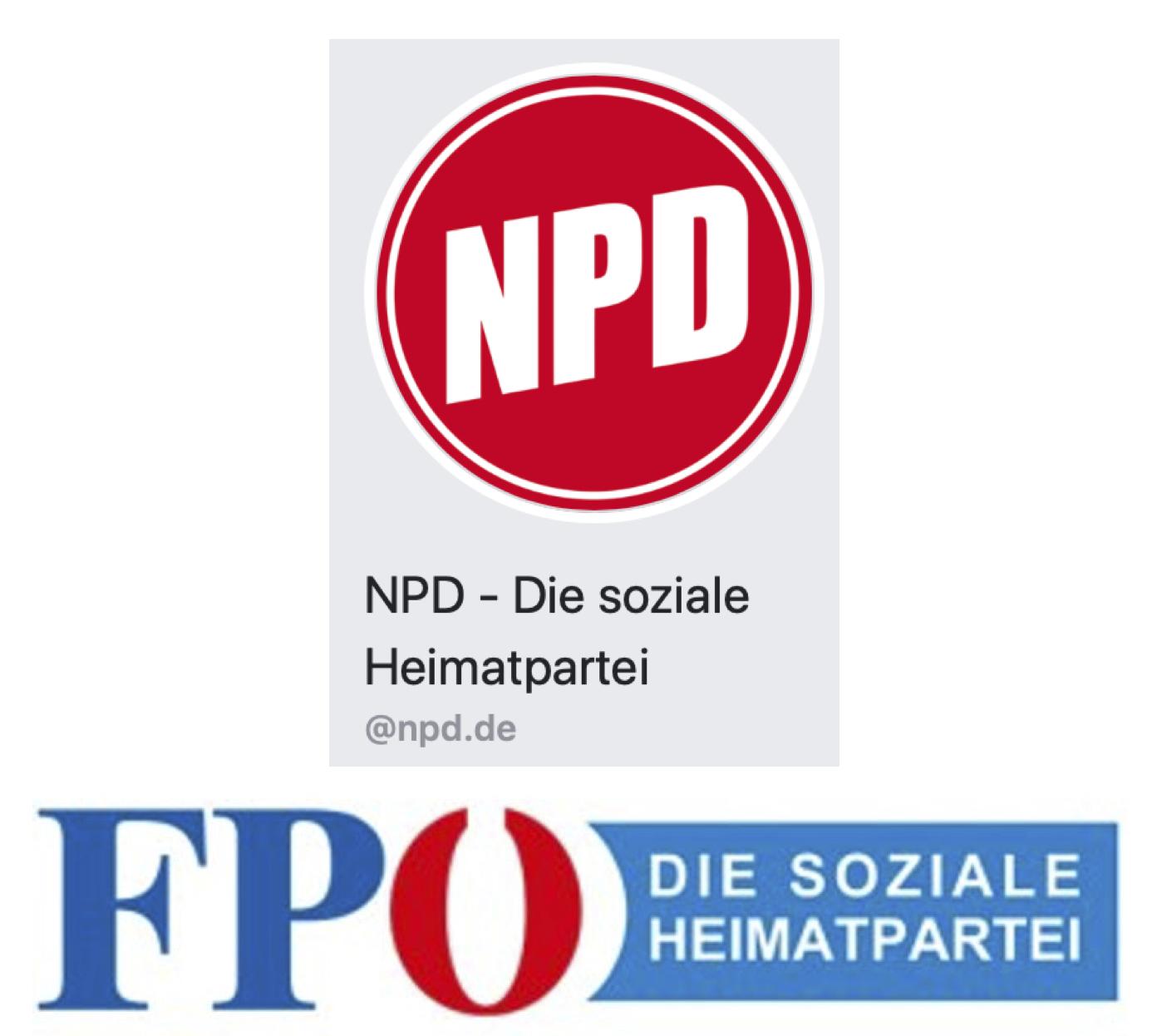 2x Soziale Heimatpartei – NPD und FPÖ