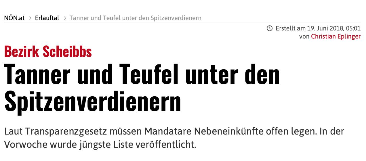 Laut Angaben zum Transparenz-Gesetz bezieht Teufel zw. 7.000.- und 10.000.- (monatlich) zusätzlich zu seinem Einkommen als Landtagsabgeordneter.