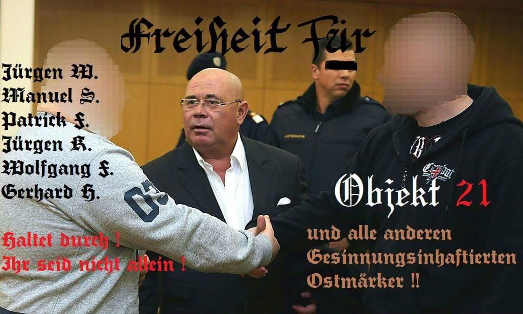 """Tino """"Krafti"""" K. fordert Freiheit für Objekt 21-Leute"""