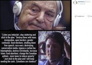 Antisemitismus bei Gudenus: Richard J – Soros und Trudeau