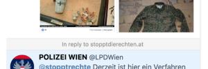 Twitter SdR an LPD Wien zu Michael K.