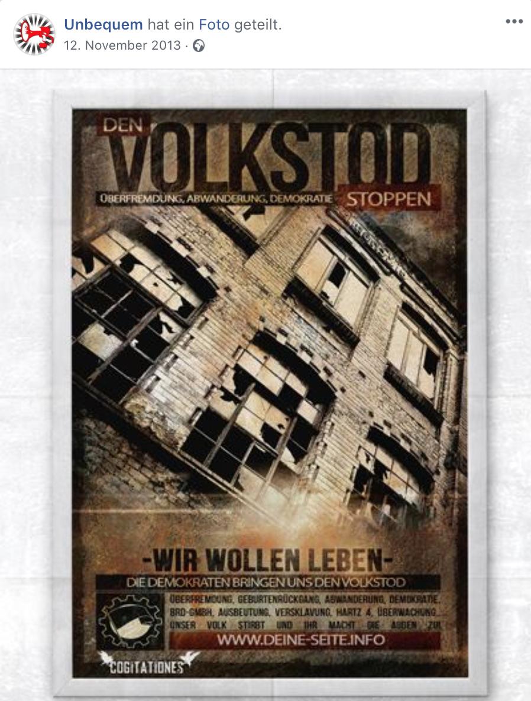 """""""Unbequem"""": """"Die Demokraten bringen uns den Volkstod"""" (12.11.13)"""