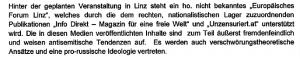 """Der Verfassungsschutz zum Kongress der """"Verteidiger Europs"""" 2016"""