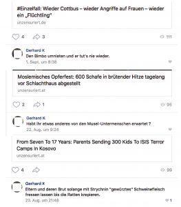 vk.com: Mordphantasien und übelste Hasskommentare