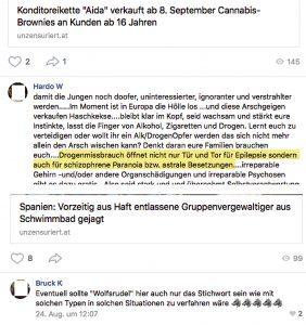 """vk.com: """"astrale Besetzungen"""" und """"Wolfsrudel"""""""