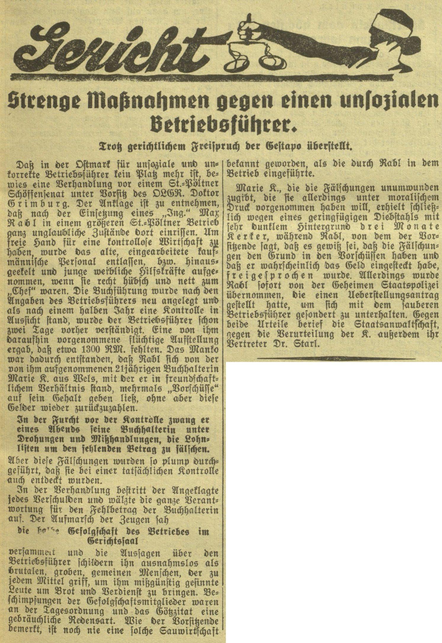 Das kleine Volksblatt 7.7.1939, S. 11 (http://anno.onb.ac.at/cgi-content/anno?aid=dkv&datum=19390707&query=%22Max+Rabl%22&ref=anno-search&seite=11)