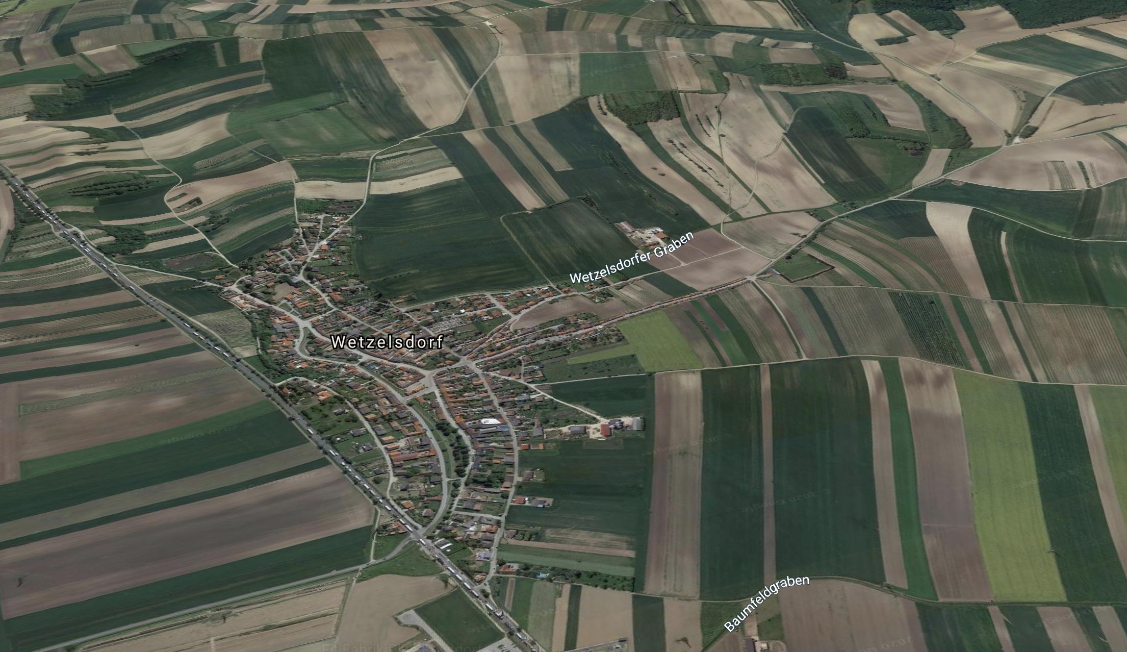 Keller in der Pampa: In Wetzelsdorf-Poysdorf sollen sich Küssels Weinkeller befinden